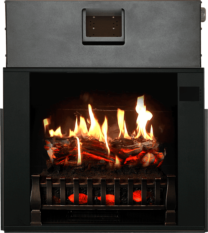 realistic insert electric fireplace with heater