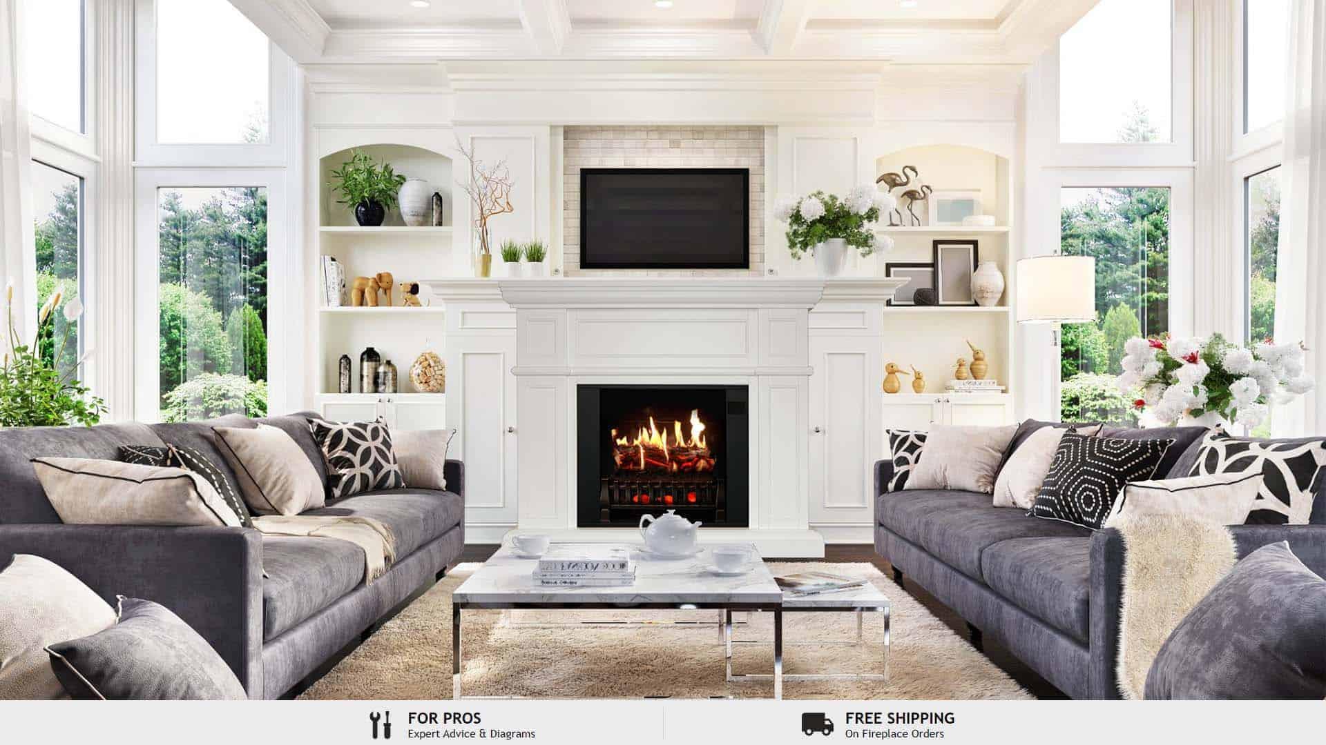 fireplace ideas indoor