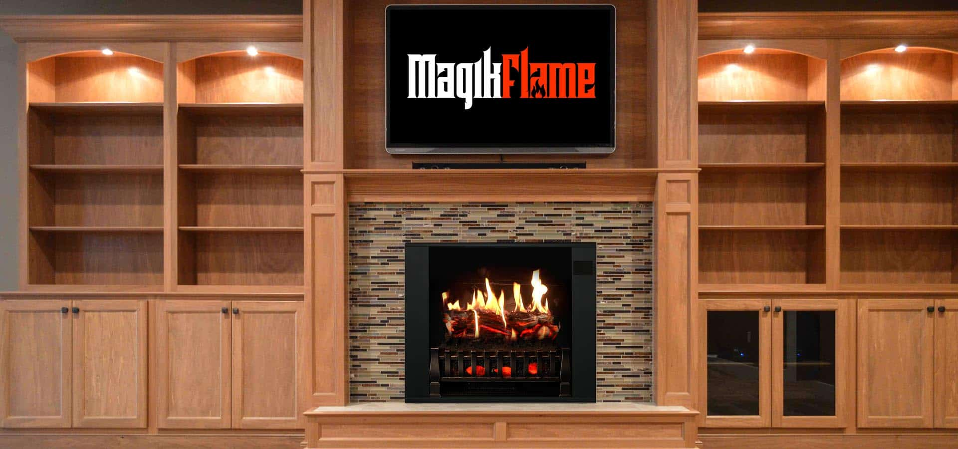Electric With Mantel