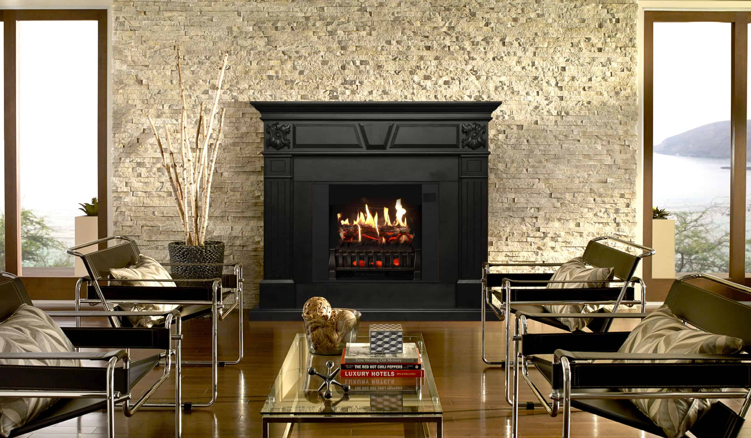 How Do Flames Work On Fireplace