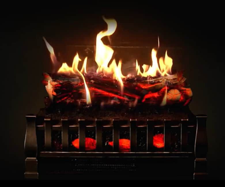 how to fix flame on electric fireplace