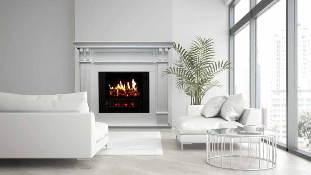 what is an electric fireplace