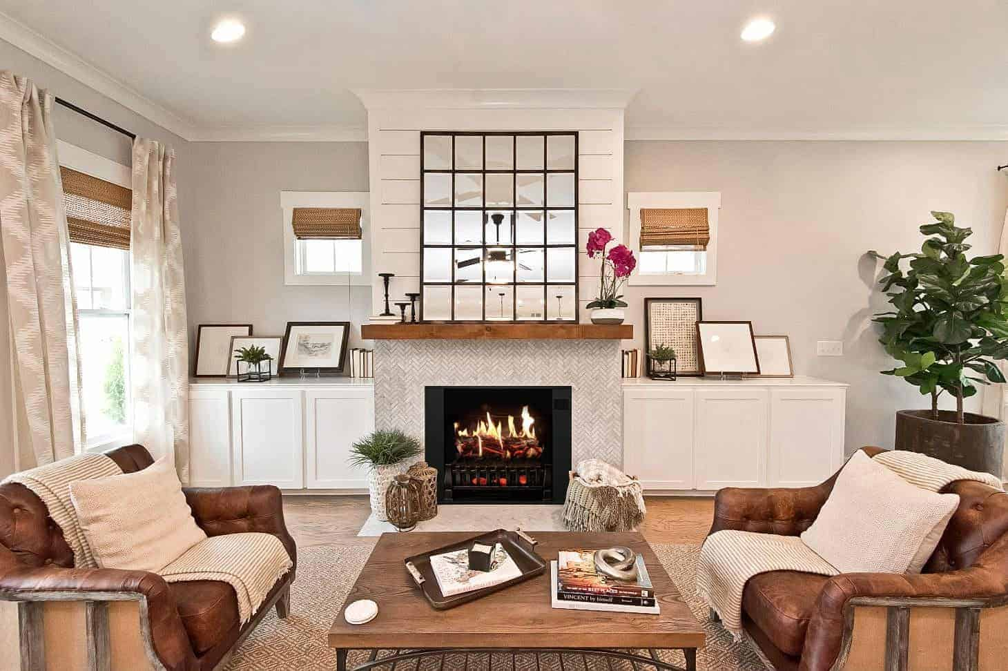 how to build an electric fireplace mantel for your living space