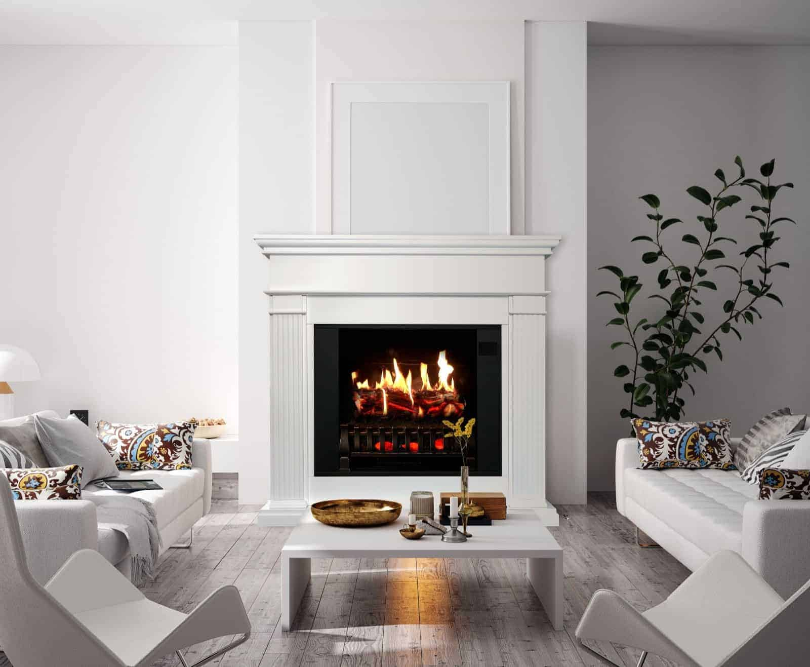 operating an electric fireplace