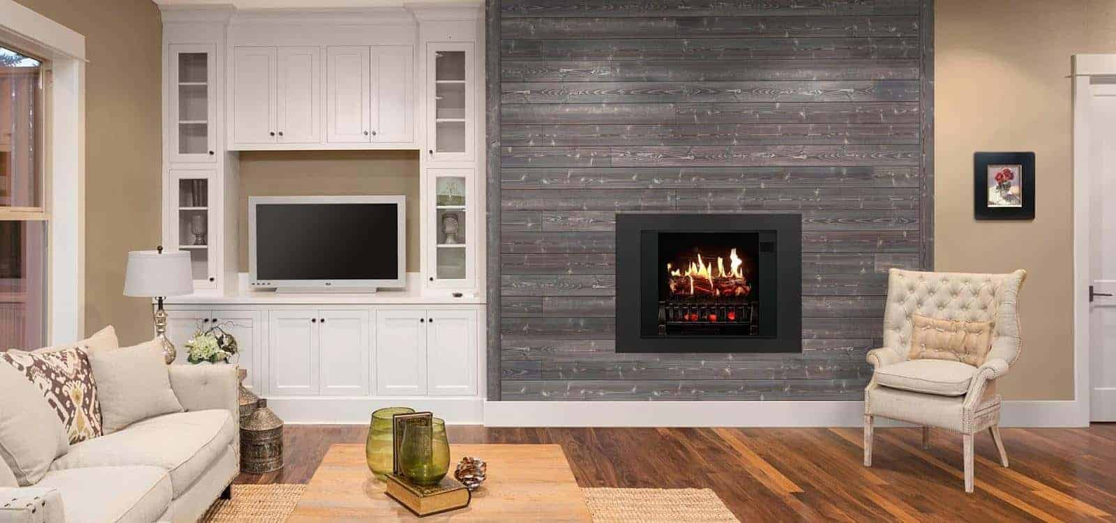 does an electric fireplace keep you warm