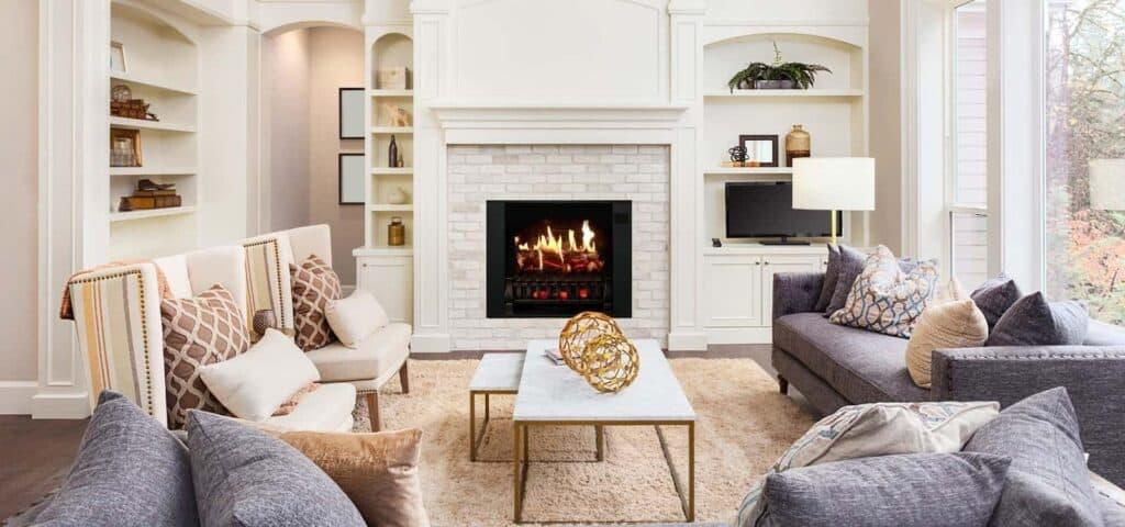 change lightbulb electric fireplace