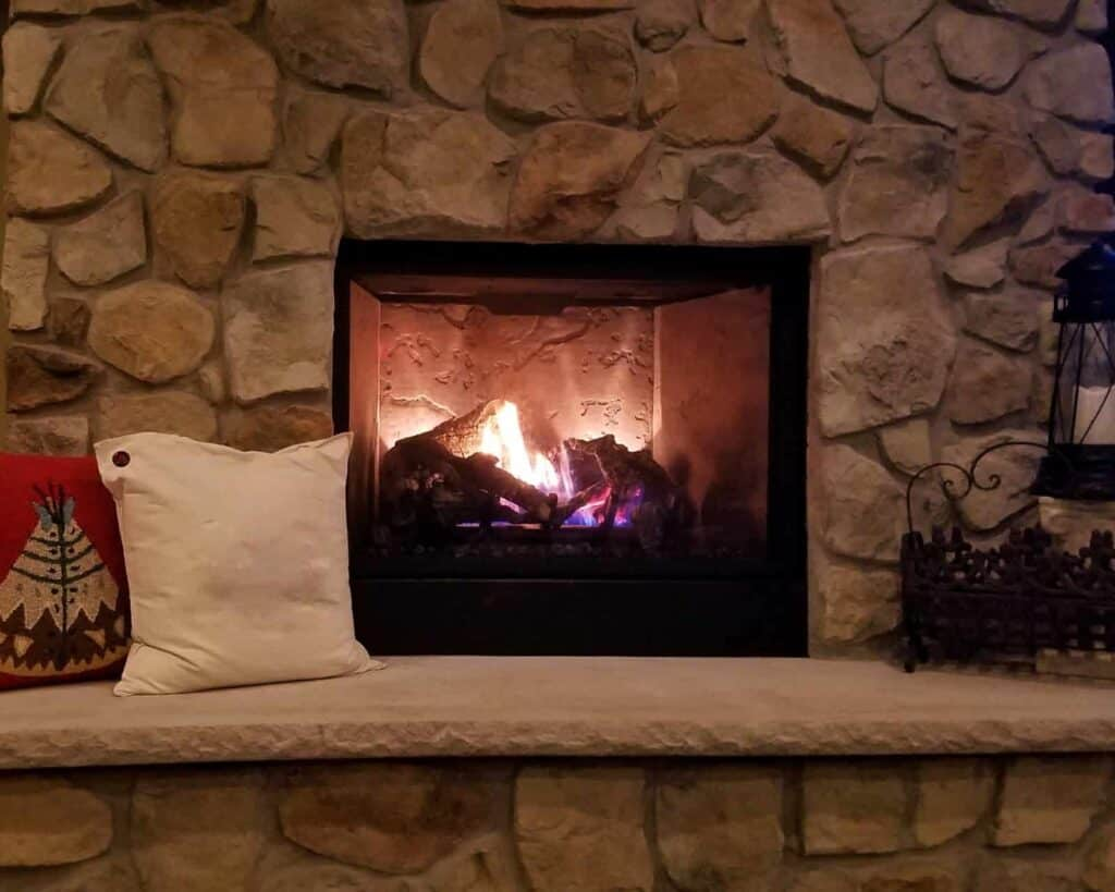 setting up your first fireplace