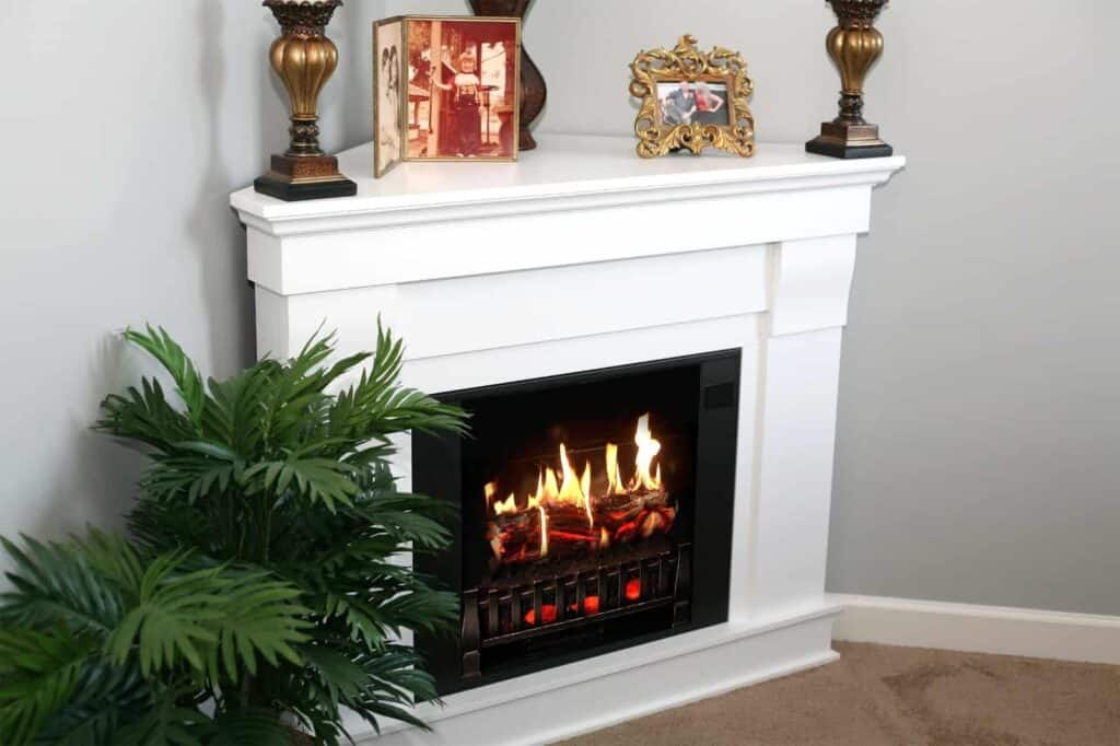 how to build a fireplace mantel shelf