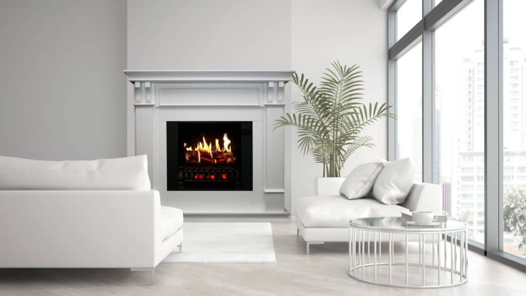 are portable electric fireplaces safe