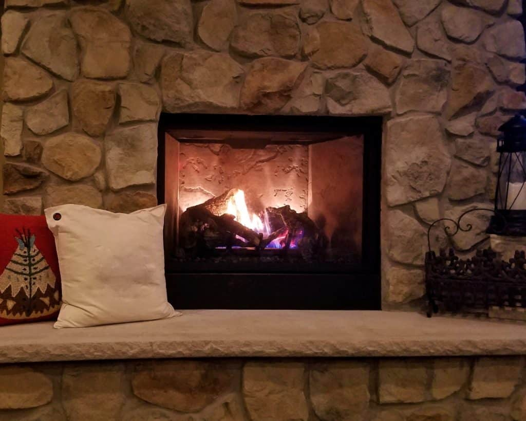 what is the quietest electric fireplace