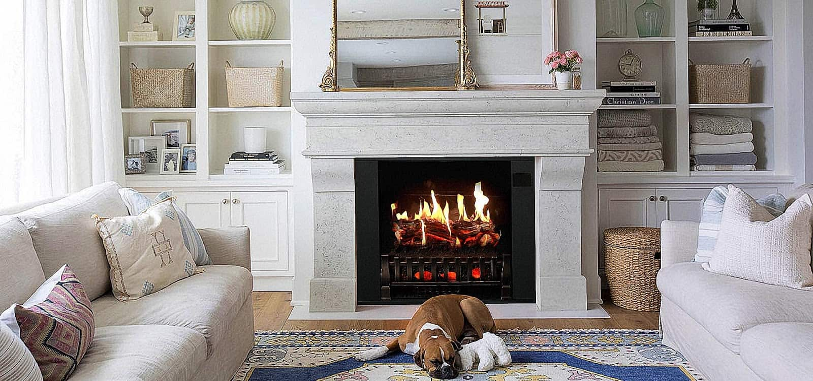 how to operate fireplace