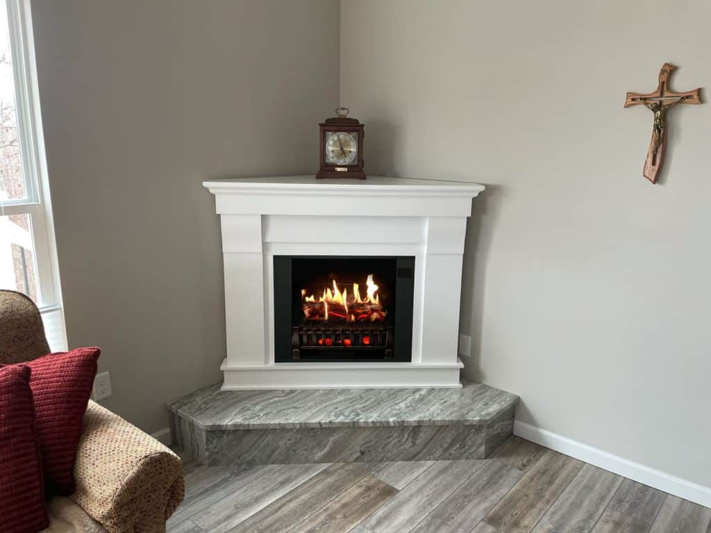How does fireplace