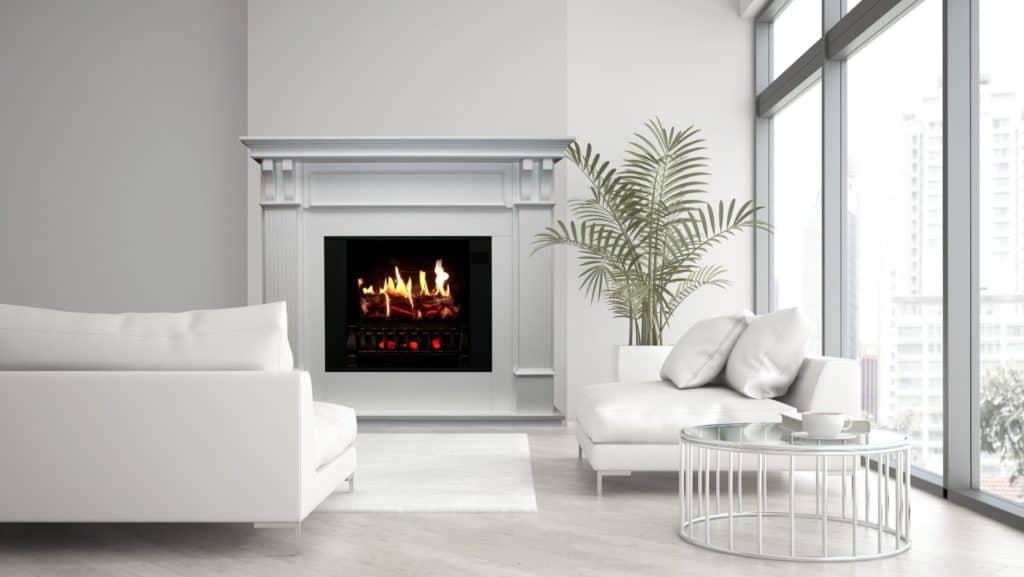 fireplace heat my basement
