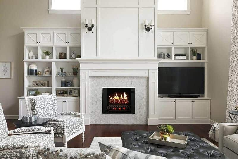 Fireplace Built