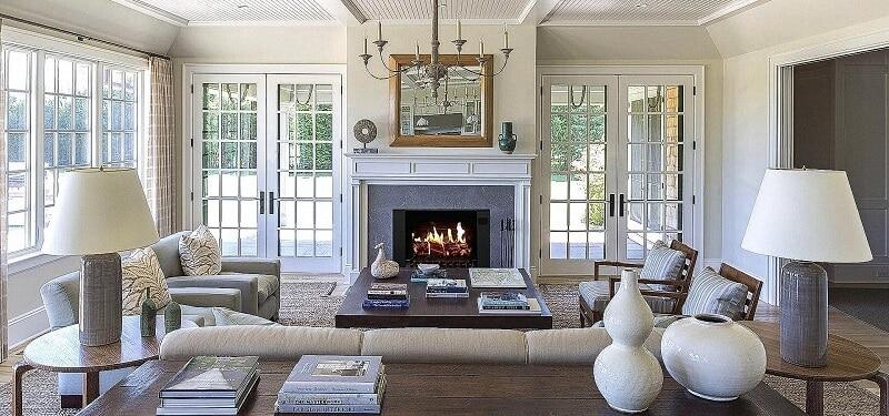 modern fireplace 2021