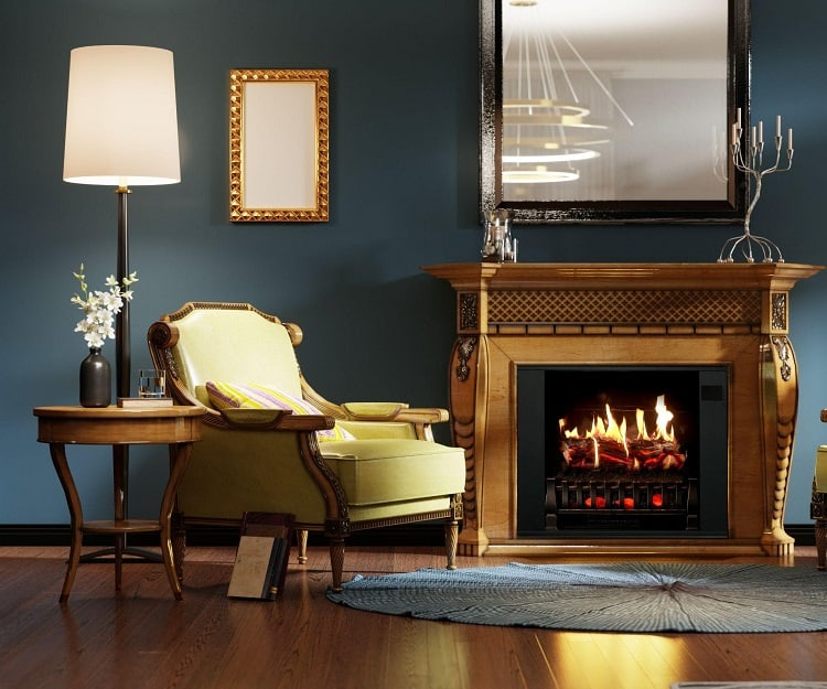 How Can I Decorate Electric Fireplaces To Make It Look Like A Real One