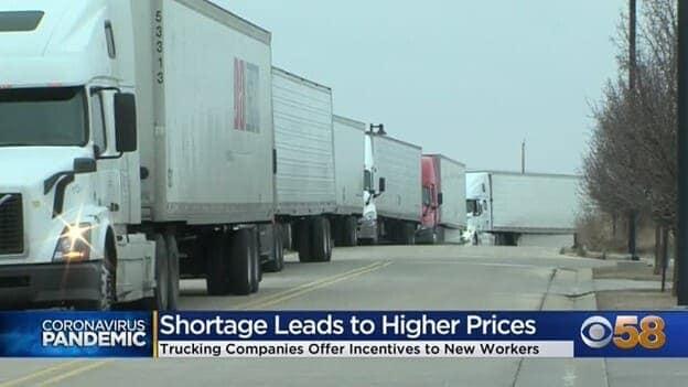 Truck Shortage