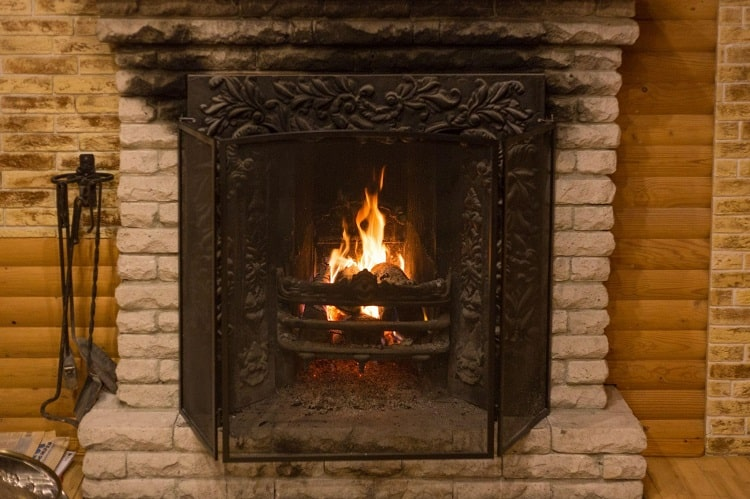 ditching your old wood fireplace